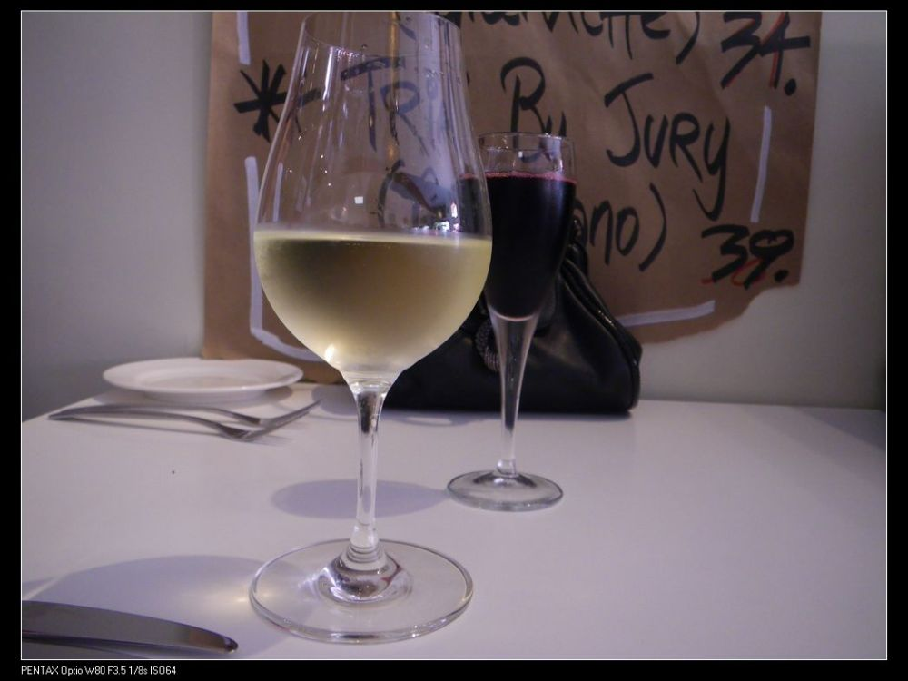 Sav. Blanc for my Miss and Sparking Shiraz for me
