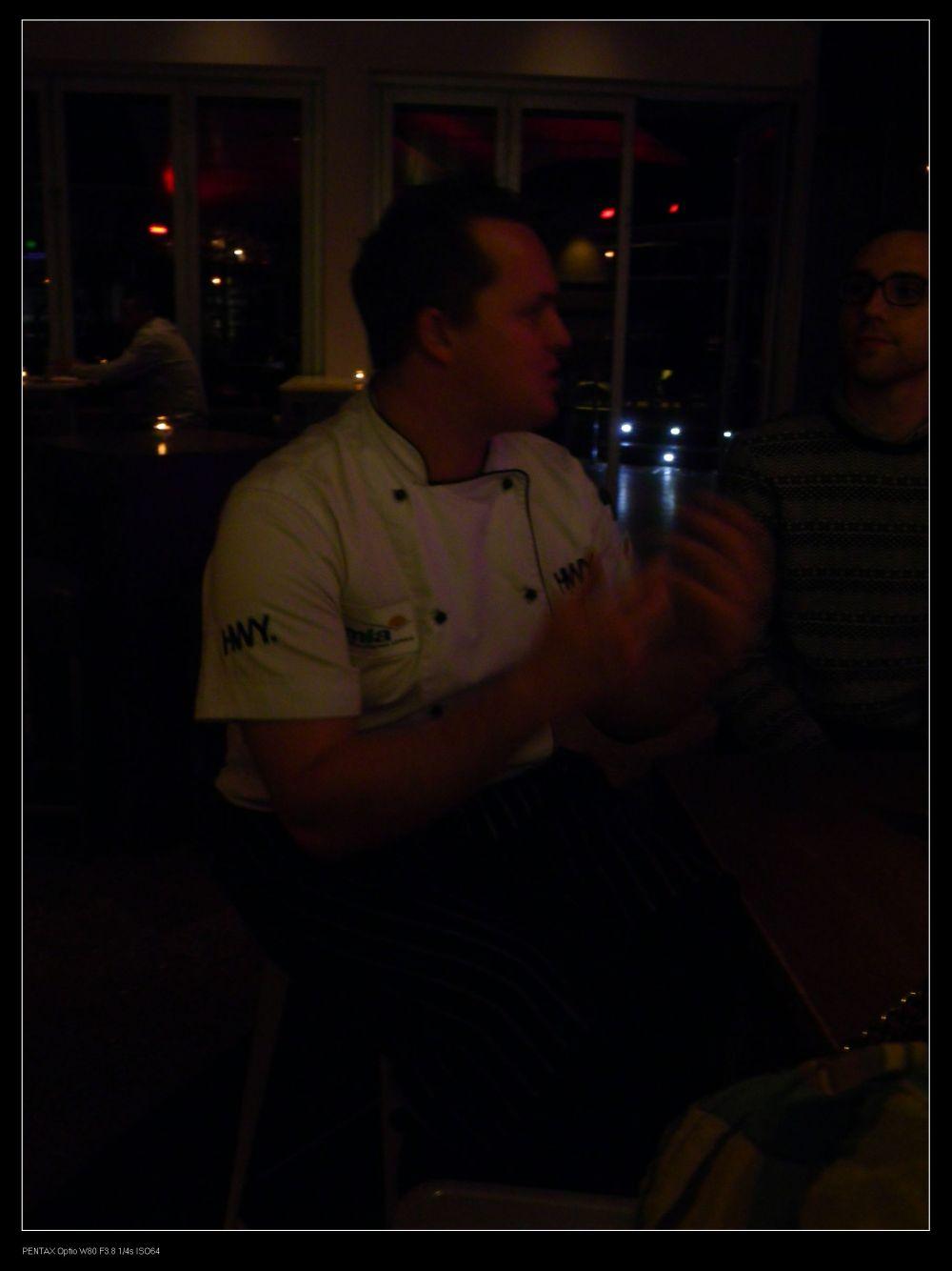 Head Chef, Nick Finn @the HWY