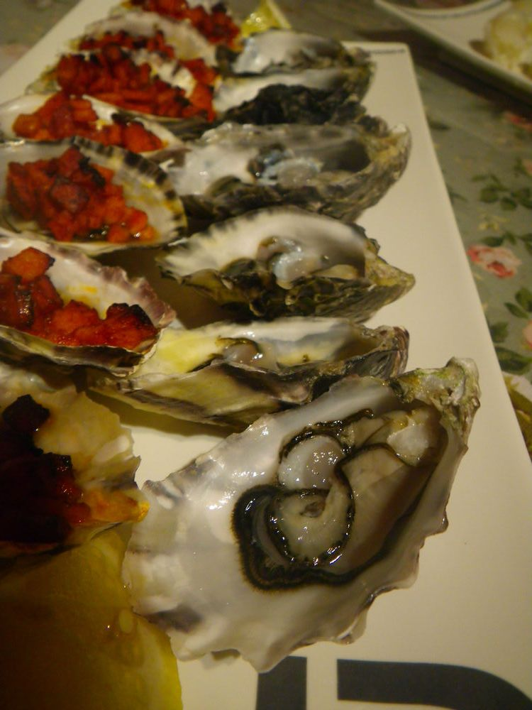My first oyster shuckingexperience