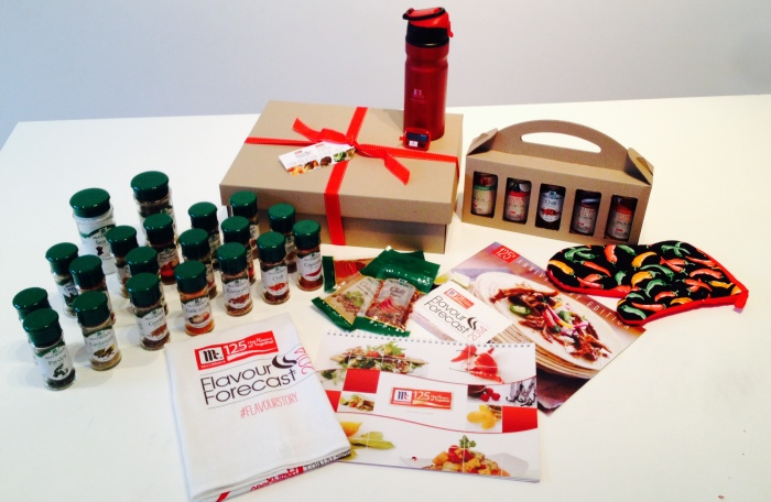 Flavour Forecast Prize Pack with gift box 2