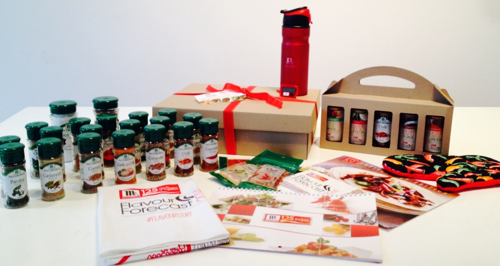 Flavour Forecast Prize Pack with gift box