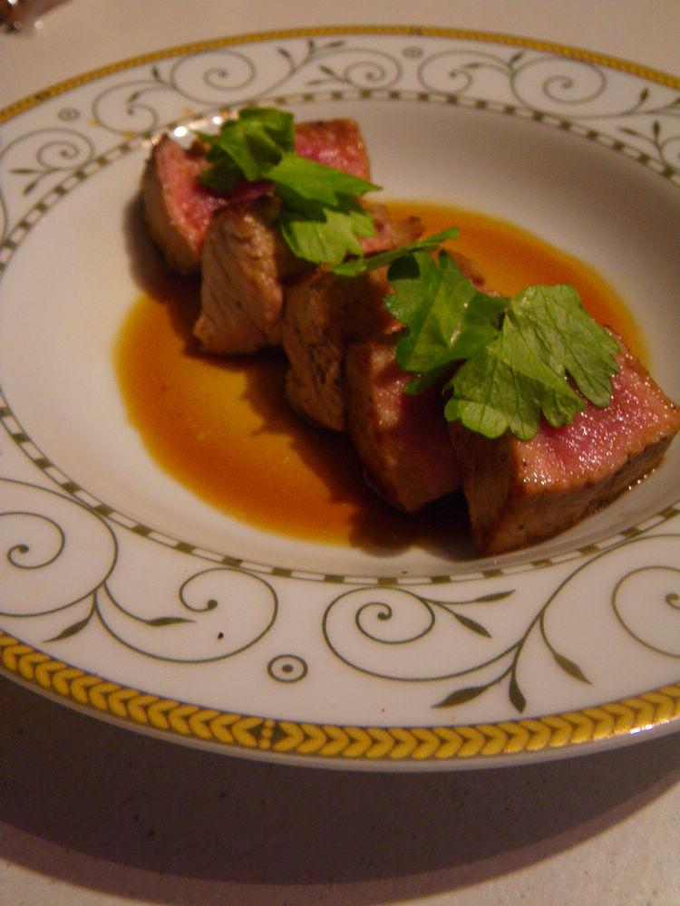 Two alpaca dishes – Carpaccio andTataki