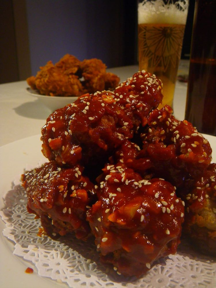 Korean style friedchicken