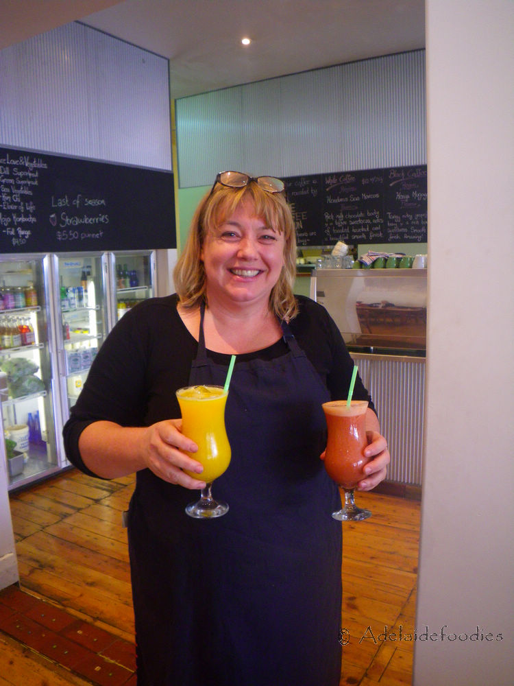 Kate, owner of Nature's Providore