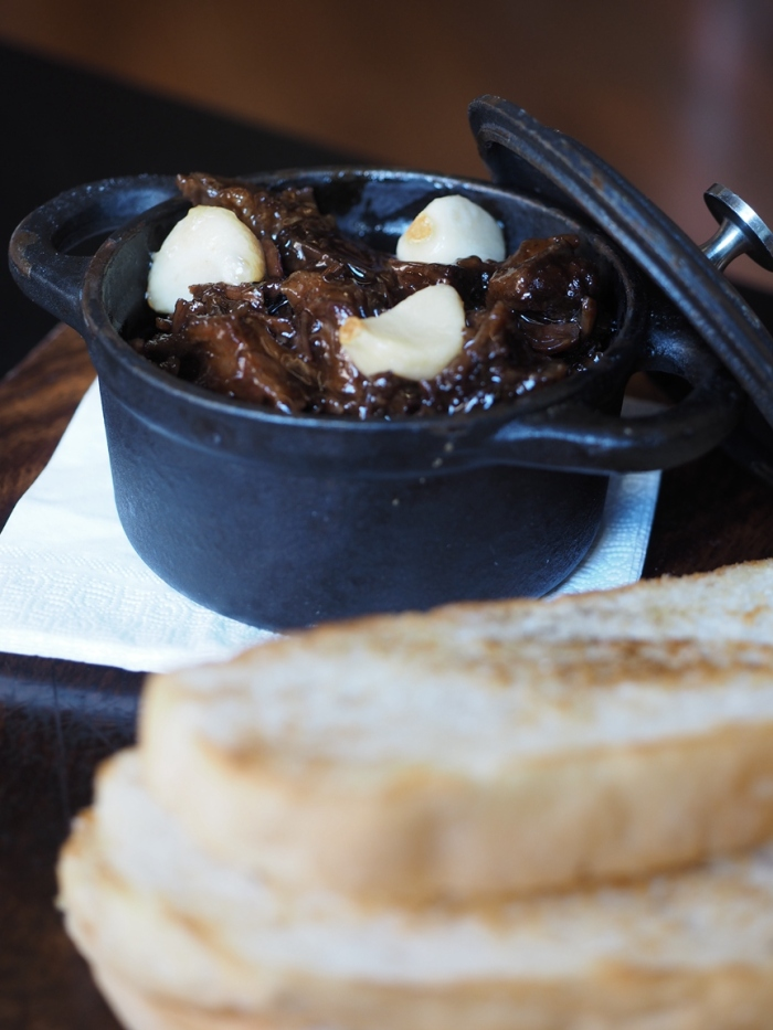 Slow Braised Beef Cheek, $18.