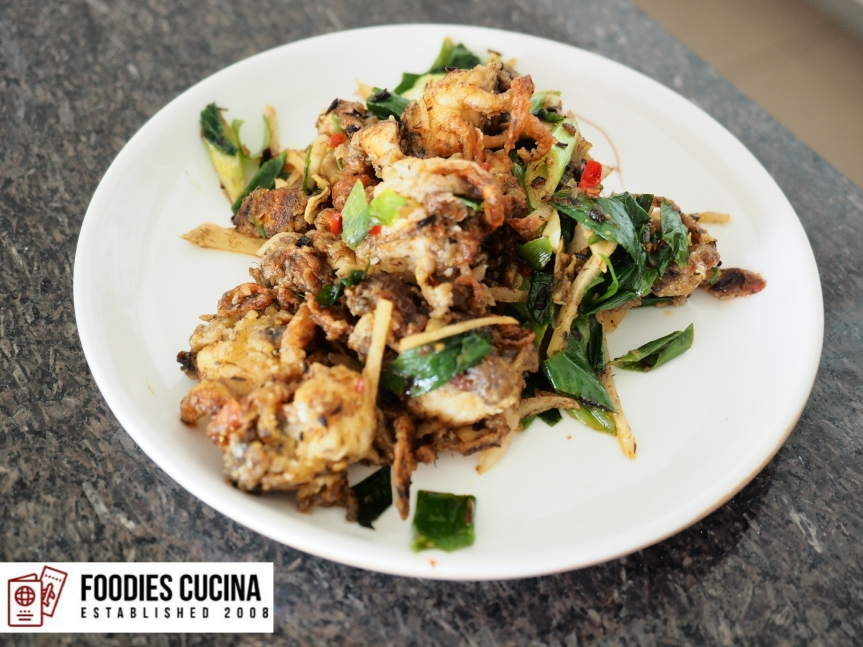 [Recipe] Salt & Pepper Softshell Crab